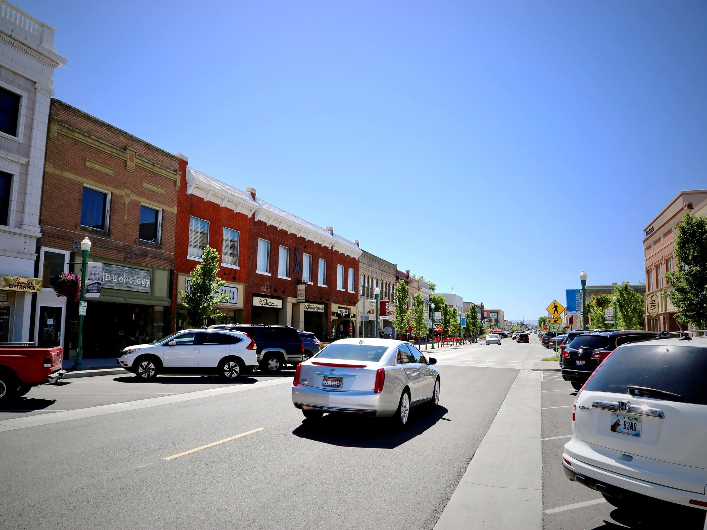 Main Avenue, Downtown Twin Falls