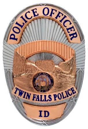 Twin Falls Police Badge