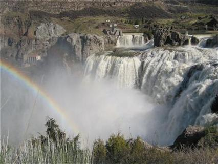 Shoeshone Falls